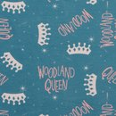 Hilco Sweat Woodland Queen blau