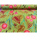 Hamburger Liebe Pattern Love Digitaldruck Jungle grün