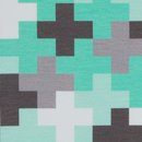 Sweat Crazy Shapes by Lycklig Design mit Pluszeichen mint