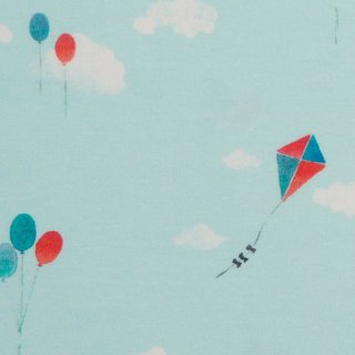 Jersey Mini Summer Windvogel und Ballons blau