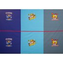 Paw Patrol Jersey Panel Marshall, Rubble, Case