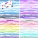 Wavy Stripes Jersey by lycklig design 4 Farben