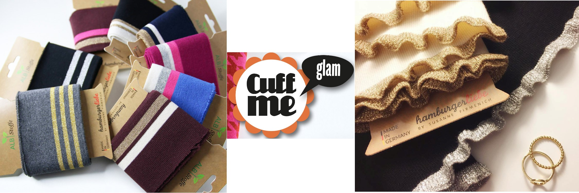 Cuff Me Glam limited Edition - Hamburger Lieb