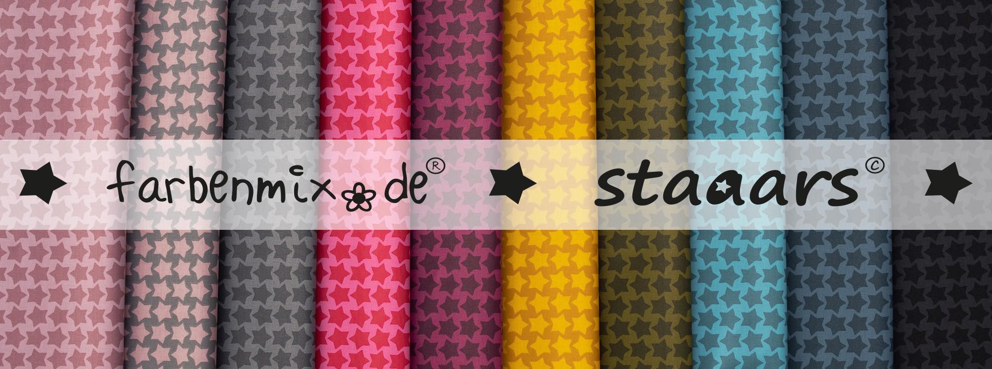 Staaars - beschichtete Baumwolle