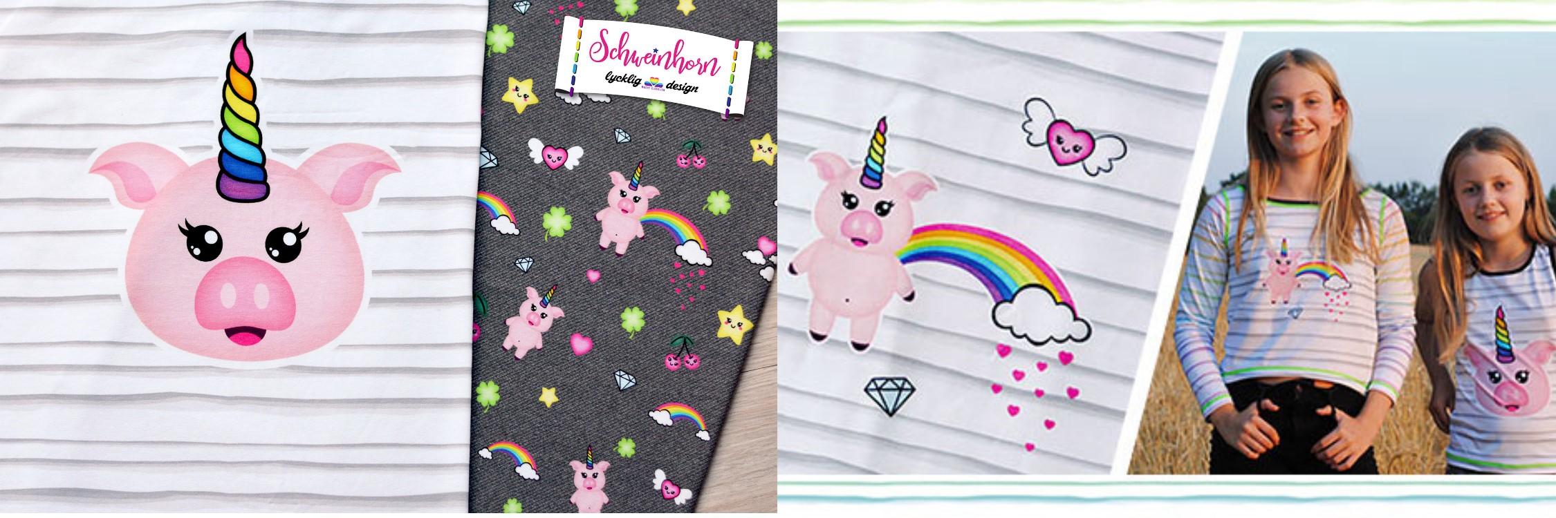 Schweinhorn Jersey von lycklig design